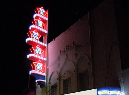 Texas Theater in Dallas, venue of Art Con 2005. Photo credit: Art Conspiracy