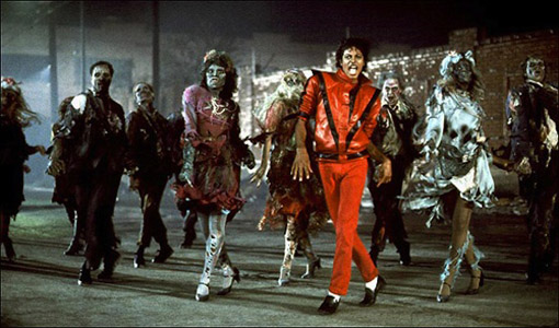 Michael Jackson's Thriller. Photo credit: Google images