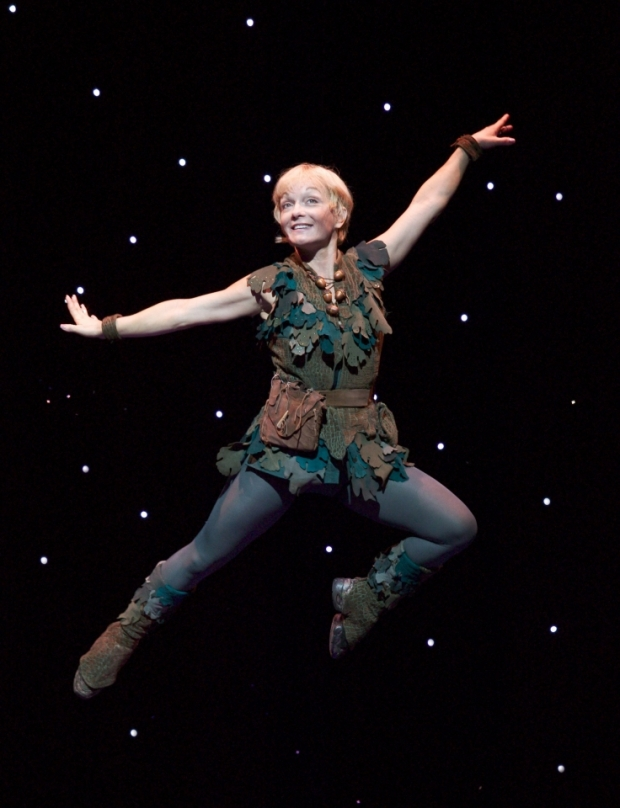 Cathy Rigby in Peter Pan. Photo credit: Craig Schwartz