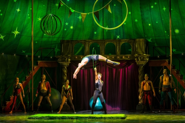 The 2015 tour of Pippin was shared by Dallas Summer Musicals and Performing Arts Fort Worth. Photo credit: Terry Shapiro