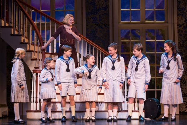 The new tour of The Sound of Music opens Dallas Summer Musicals' 76th season. Photo credit: Matthew Murphy